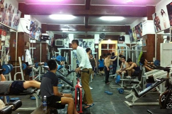 Phòng tập gym nhỏ nình dân
