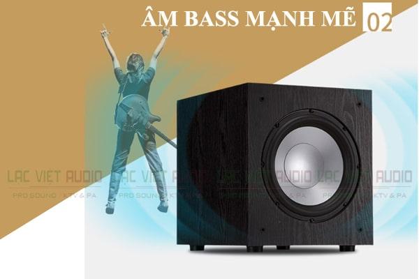 Loa Sub Jamo J12 âm bass mạnh mẽ