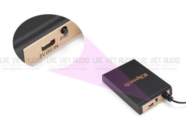 Phụ kiện đi kèm của Loa Sub Klipsch R10SWi Wireless