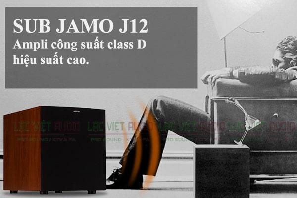 Loa Sub Jamo J12 có amply công suất cao