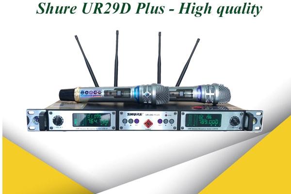Micro Shure UR29D Plus