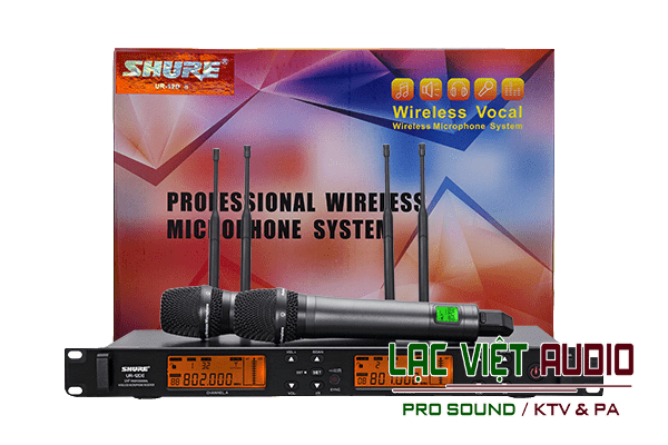Micro Shure UR12D II