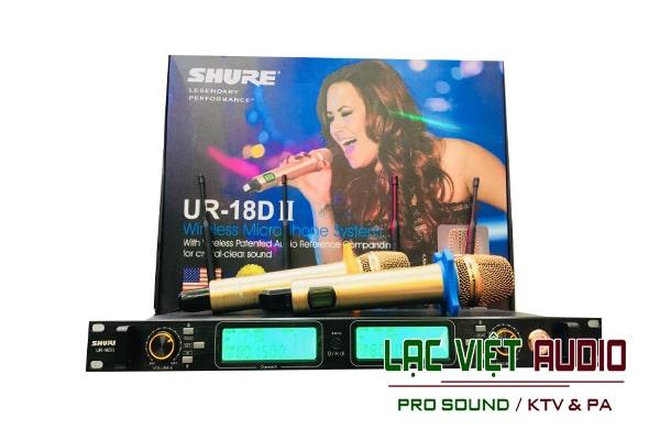 Đầu thu của Shure UR18DII