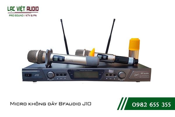 Giới thiệu về Micro không dây BF Audio J10