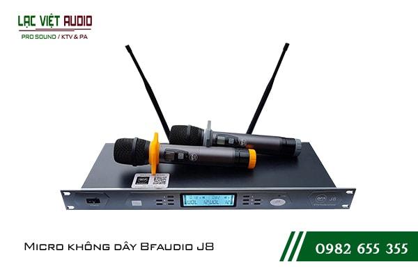 Giới thiệu sản phẩm Micro BF Audio J8
