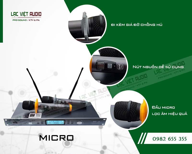 Về thiết kế của Micro J8