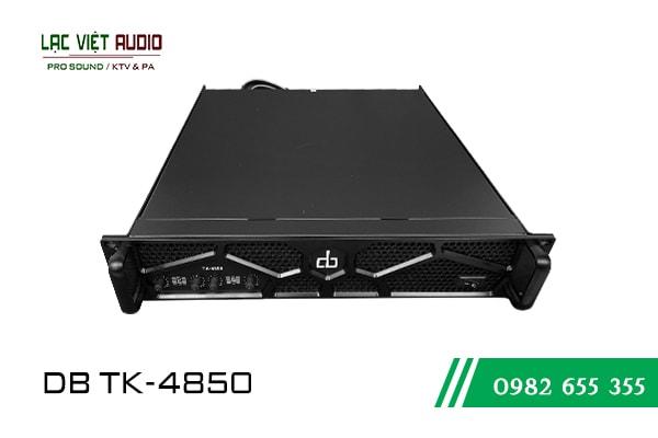 Giới thiệu sản phẩm cục dẩy công suất DB TK 4850 - Lạc Việt Audio