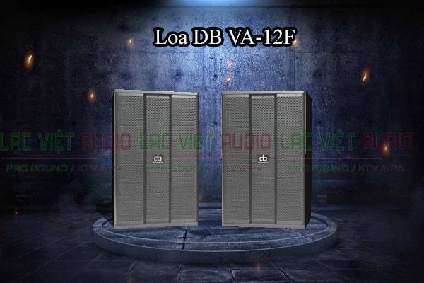Thiết kế đẹp mắt của Loa DB VA-12F