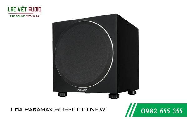 Giới thiệu sản phẩm loa Sub Paramax Sub 1000 New 2018