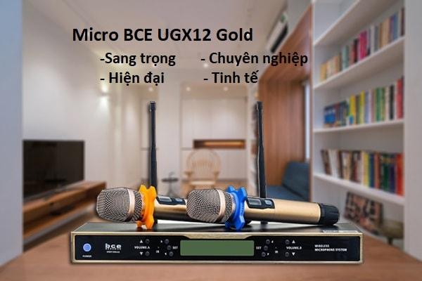 Micro BCE UGX12 Gold thiết kế đẹp