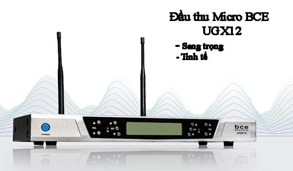 Micro BCE UGX12 đầu thu