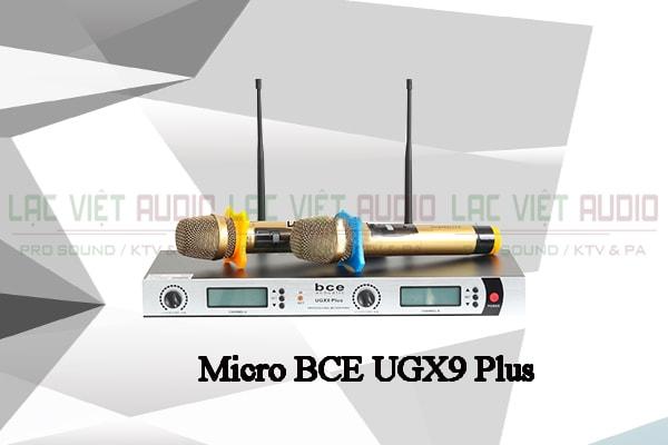 Micro BCE UGX9 Plus thiết kế đẹp