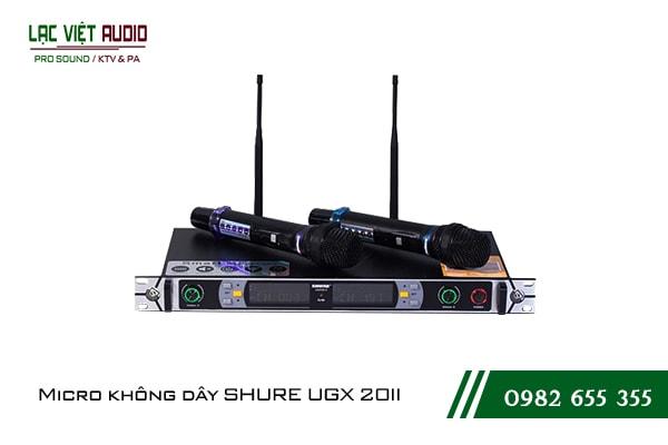 Giới thiệu sản phẩm micro Shure UGX 20II