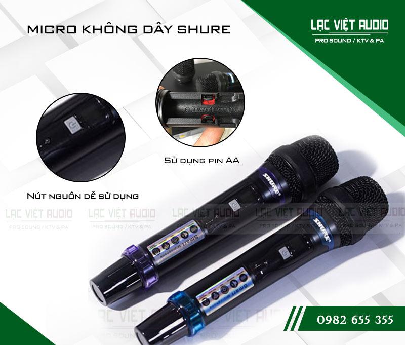 Ứng dụng của micro Shure UGX20 II