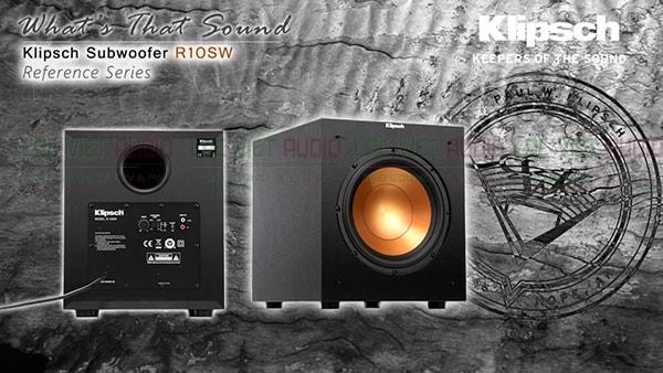 Loa Sub Klipsch R-10SW chính hãng giá tốt nhất