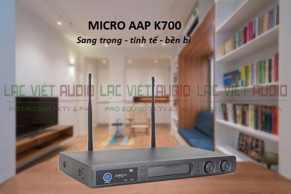 Thiết kế micro AAP K700