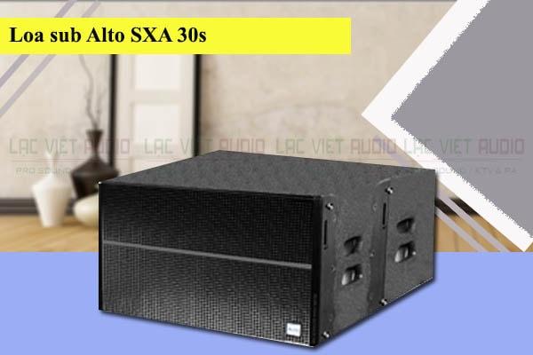 Thiết kế của Loa sub Alto SXA 30S