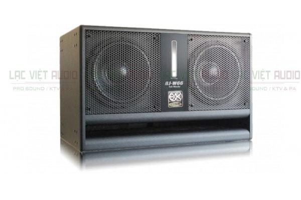 Thiết kế của loa BIK W66 Lạc Việt Audio