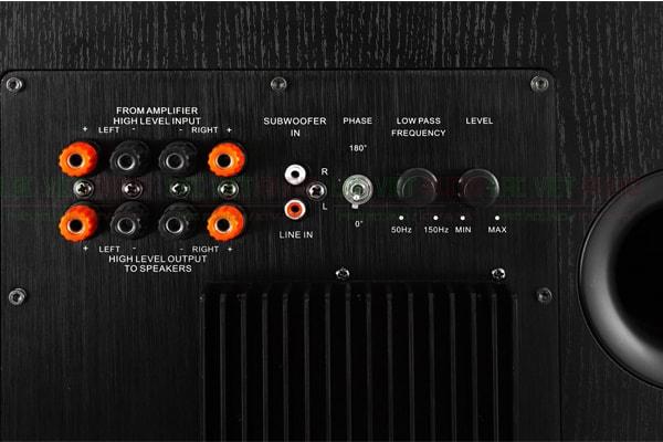 Chi tiết cấu tạo mặt sau loa Sub Boss B12W Lạc Việt Audio