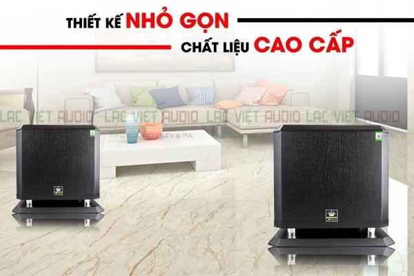 Thiết kế hiện đại của loa sub Boss B12W Lạc Việt Audio