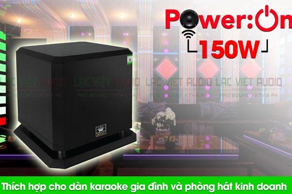 Công suất của loa sub Boss B12W Lạc Việt Audio