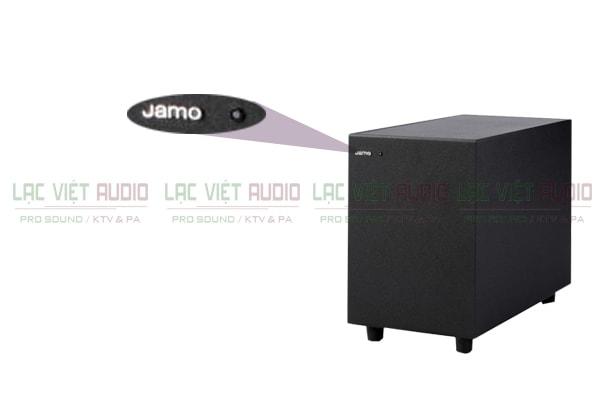 chi tiết logo mặt trước Loa Jamo SUB 200 Lạc Việt Audio