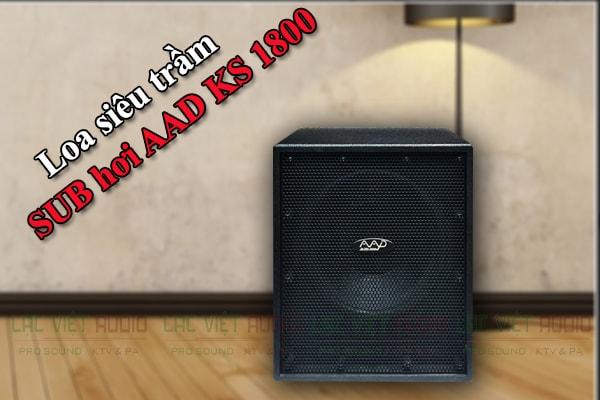 Thiết kế của loa SSD KS 1800 - Lạc việt Audio