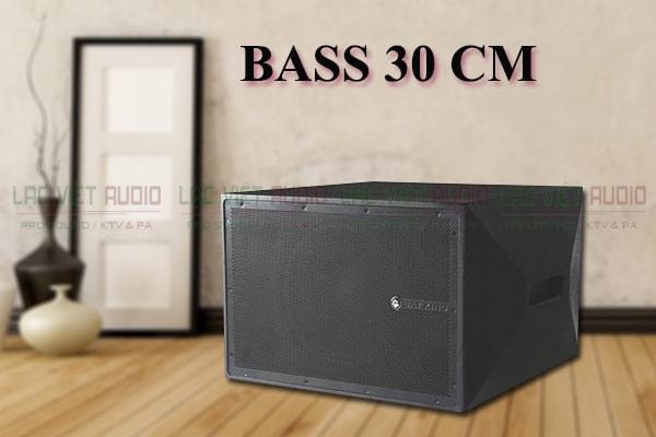 Loa bass của sub Cat King K12W lạc Việt Audio