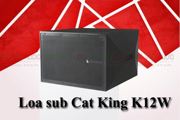 Thiết kế loa sub Cat King K12W lạc Việt Audio