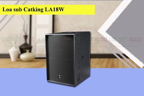 Thiết kế của loa sub Cat King LA18W Lạc Việt Audio