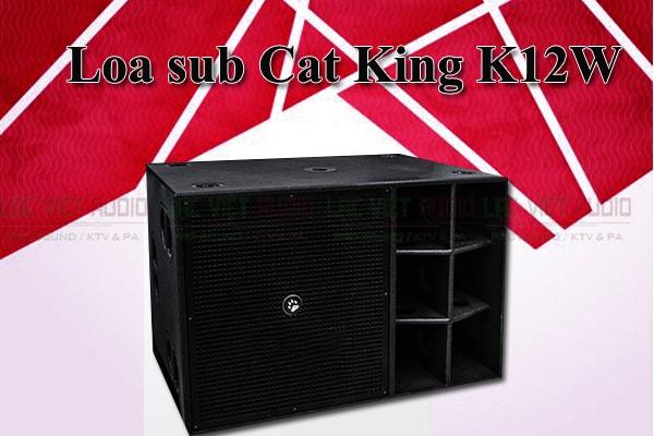 Thiết kế của loa Cat King VF18sub Lạc Việt Audio