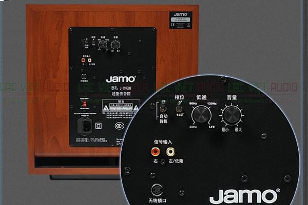 Cấu tạo mặt sau loa sub Jamo J110 Lạc Việt Audio