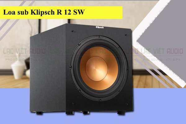 Loa sub Klipsch R12 SW Lạc Việt Audio
