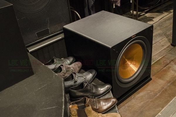 Thiết kế của Loa sub Klipsch R12 SW Lạc Việt Audio
