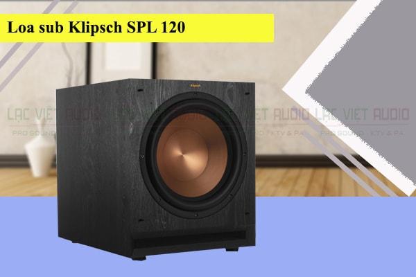 Mặt trước Loa sub Klipsch SPL120 Lạc Việt Audio