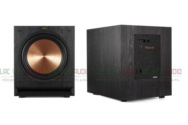 Mặt trước và sau của loa sub Klipsch SPL120 Lạc Việt Audio