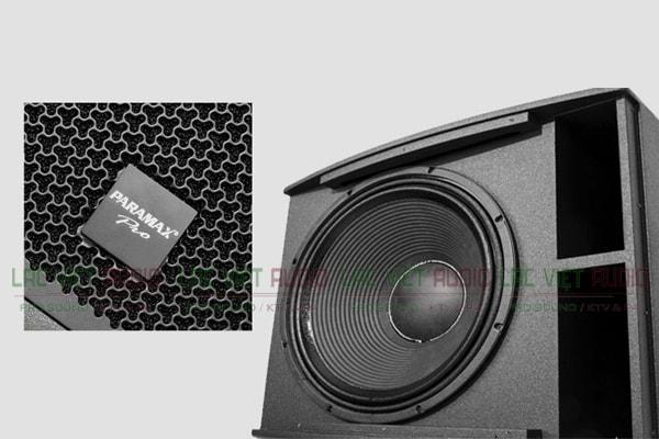 Chi tiết cấu tạo loa sub Paramax Pro X18 Lạc Việt Audio