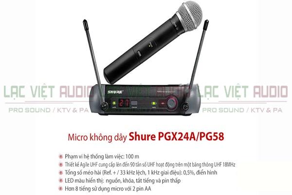 Shure PGX24A/Beta87A
