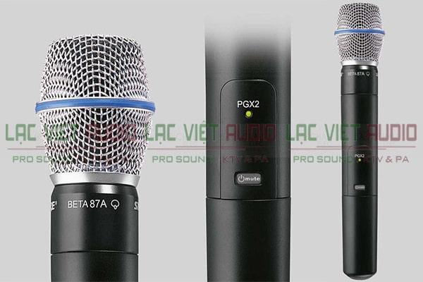 thiết kế của Shure PGX24A/Beta87A