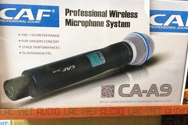 nguyên hộp Micro CAF CA A9
