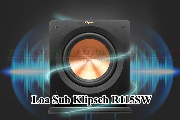 Loa Sub Klipsch R115SW