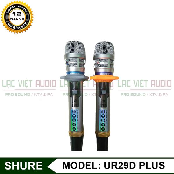 Micro không dây Shure UR29D Plus