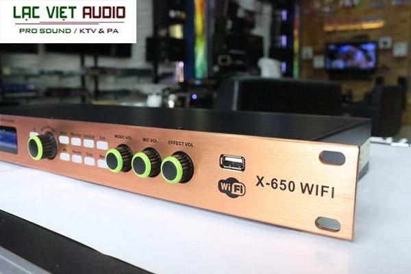 Vang số BTE X650 Wifi chuẩn nhất