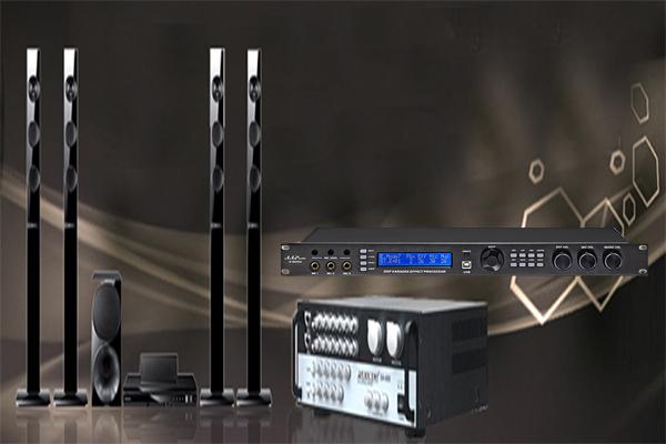 Vang số AAP K9100 kết hợp cùng dàn Karaoke