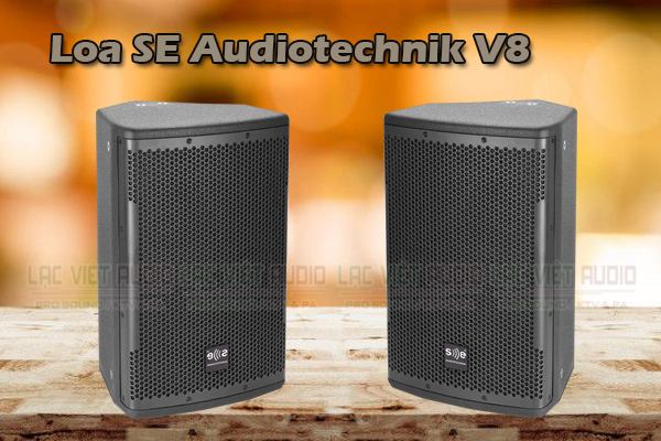 Thiết kế của Loa SE Audiotechnik V8
