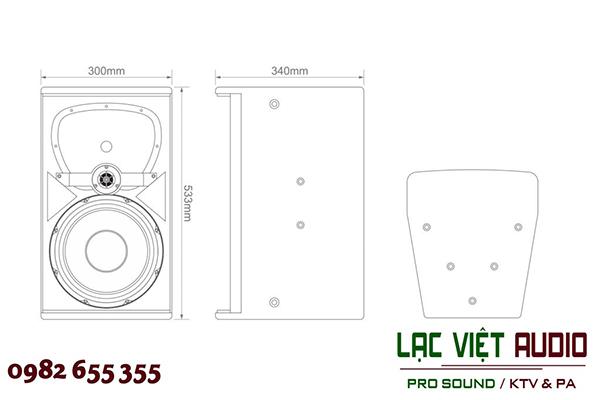 Thiết kế Loa Audiofrog A312 - Lạc Việt Audio
