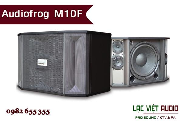 Thiết kế của Loa Audiofrog M10F - Lạc Việt Audio
