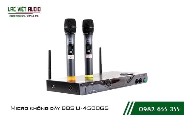 Giới thiệu về Micro BBS U 4500GS