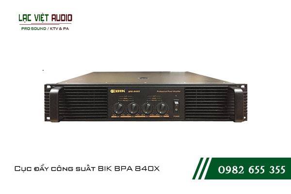 Giới thiệu về Cục đẩy công suất BIK BPA 840X