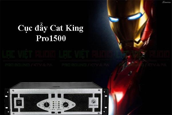 Cục đẩy công suất Cat King pro 1500 thiết kế đẹp
